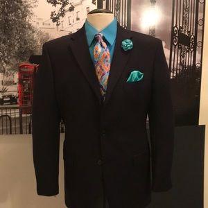 Jones New York 3 buttons blue suit